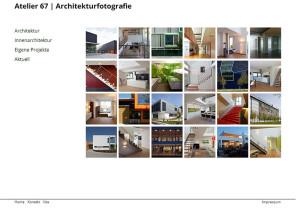 Webseite Atelier67